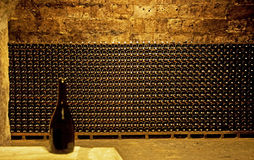 Wine cellar. In Budapest, Hungary Stock Images