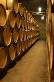 Wine cellar. Bourgogne wine cellar, France Royalty Free Stock Photos