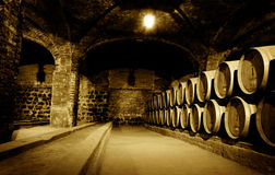 Free Wine Cellar Royalty Free Stock Image - 9869006