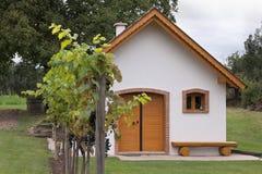 Wine cellar in Austria Stock Photo