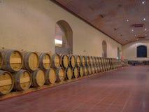 Wine cellar Royalty Free Stock Photo