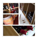 Wine cellar in Bordeaux, France Royalty Free Stock Photography