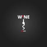 Wine cellar bottle concept design background Royalty Free Stock Images