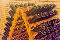 Wine Cellar Champagne Royalty Free Stock Photos