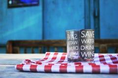 Wine cellar in Croatia royalty free stock photography