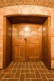 Wine Cellar Door Stock Photo