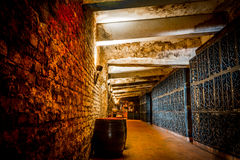 Wine Cellar. Entrance, Recas Romania Royalty Free Stock Image