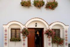 Wine cellar facade Royalty Free Stock Photos