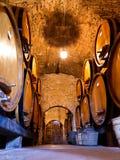 Wine cellar floor Stock Photography