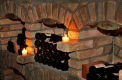 Wine cellar in Mayrhofen. Austria Stock Photo
