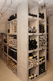 Wine cellar with old riesling Royalty Free Stock Photo