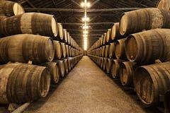 Wine cellar, Porto Stock Images