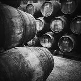 Wine Cellar In Porto, Portugal Royalty Free Stock Image