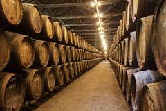 Wine cellar, Porto Stock Photos