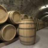 Wine cellar rendering Royalty Free Stock Photos