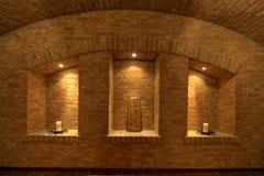 Wine Cellar Room. Modern wine cellar room interior Royalty Free Stock Images