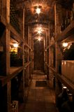 Wine Cellar in Slovakia Stock Images