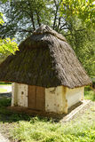 Wine cellar thatched with straw Stock Image