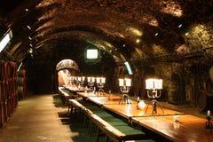 Wine cellar. In Tokaj, Hungary Royalty Free Stock Photography