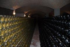 Wine cellar (Italy, Franciacorta) Stock Photos