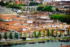 Wine cellars in Porto, Portugal Stock Images