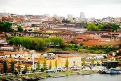 Wine cellars in Porto, Portugal Royalty Free Stock Photos