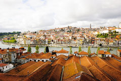 Wine cellars in Porto, Portugal Royalty Free Stock Photography
