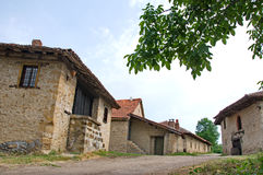 Wine cellars in Rajac. Rajac wine cellars, a village with traditional wine cellars. Houses in the village were built by peasants from the village of Rajac, near Royalty Free Stock Photos