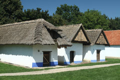 Wine Cellars in South Moravia. Museum of the Villages of Southeast Moravia in Straznice (Slovacko region), Czech Republic. Open – air museum (opened in 1981) Stock Photo