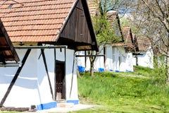 Wine cellars, Vlcnov Royalty Free Stock Images