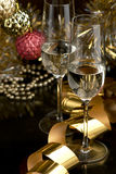 Wine. Champagne Royalty Free Stock Images