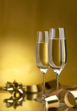 Wine. Champagne Stock Image