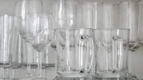 Wine, champagne and beer glass.  royalty free stock photo