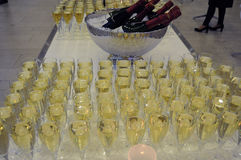 WINE AND CHAMPAGNE Stock Photos
