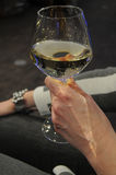 WINE AND CHAMPAGNE Royalty Free Stock Photography