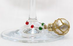 Wine charms Royalty Free Stock Image