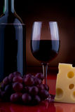 Wine and cheese 1 Royalty Free Stock Photo