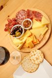 Wine and Cheese Royalty Free Stock Photography