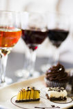Wine and Chocolates Royalty Free Stock Photo