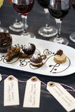 Wine and Chocolates Royalty Free Stock Photos