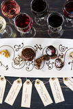Wine and Chocolates Royalty Free Stock Photography