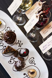 Wine and Chocolates Royalty Free Stock Images