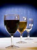 Wine choice stock photos