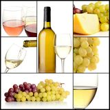 Wine collage Royalty Free Stock Photography