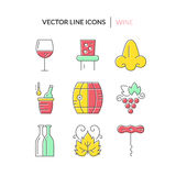 Wine Collection Royalty Free Stock Images
