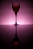 Wine collection - Red wine in glass Royalty Free Stock Images