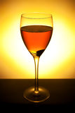 Wine collection - Red wine in glass Stock Photography