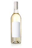 Wine collection - White wine in bottle stock photo