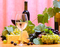 Wine composition Royalty Free Stock Photo