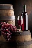Wine composition Royalty Free Stock Photos